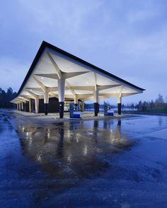 Maailman kaunein huoltoasema löytyi Suomesta - katso kuvat
