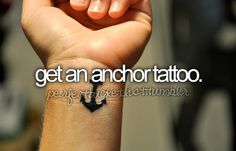 an anchor or a compass rose have long been tattoo ideas of mine. I'd love to get either, or possibly both.