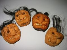 I already made these a few years ago and they come out GREAT. A very fun project with kids. You need to do this waaay in advance of Halloween though, so think ahead!