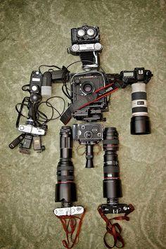 DIY Camera Robot by linkdelight.com, via Flickr