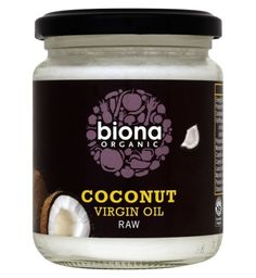 Biona Organic Coconut Virgin Oil Raw 200g £4.39