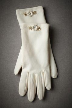 BHLDN Tidy & Trim Gloves in  Sale at BHLDN