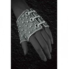 Glove by Jacob & Co, white gold mesh with over 17ct of diamonds