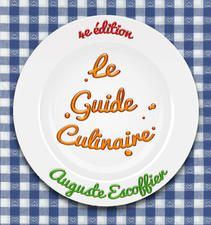 """Le Guide Culinaire, 4th édition. This is the book that is regarded as a """"Bible"""" of modern cooking, and is still required reading in every serious cooking school, almost 100 years after its first publication.  Perhaps the most important French cookbook of the 20th century, this is the fourth (and current) edition, published in Paris in 1921. It contains more than 5000 recipes!"""