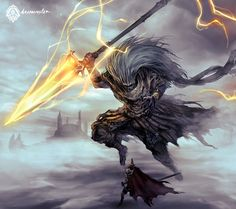 Dark Souls III Fanart - The Nameless King by daemonstar on DeviantArt