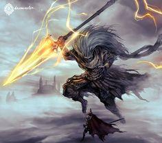 Dark Souls III Fanart - The Nameless King by daemonstar on DeviantArt