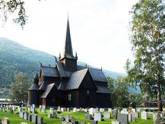 The Lom stave church was built some time after about 1160 according to dendrochronological data. This is probably the church in Norway most visited by tourists.