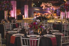 One of our favorite wedding receptions in our Dino Digs Room. Photo By: Ashley Jane Photography