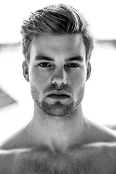 7.Haircut para homens com cabelo grosso