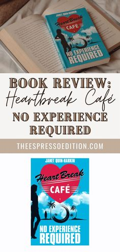 Looking for your next beach read? No Experience Required (Heartbreak Café #1) by Janet Quin-Harkin is a summery teen drama you'll love. Check out the review at theespressoedition.com | #noexperiencerequired #heartbreakcafe #bookreview #historicalfiction