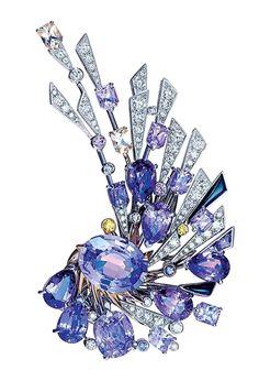Chaumet Lueurs d'Orage Brooch – brooch High Jewelry, Jewelry Art, Antique Jewelry, Vintage Jewelry, Jewelry Accessories, Jewelry Design, Dainty Jewelry, Gold Jewelry, Wedding Rings Vintage