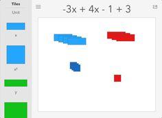 Algebra Tiles | Best Math Apps for Kids