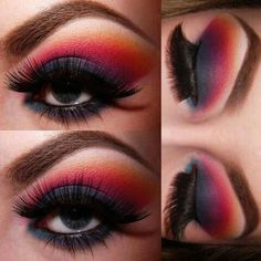 Smoke and Fire Smokey Eye