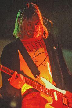 Kurt Cobain Photos, Nirvana Kurt Cobain, Kurt Cobain Art, Nirvana Art, Nirvana Lyrics, Blues Rock, Arte Van Gogh, Donald Cobain, Rock Poster
