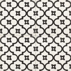 Introduce global Moroccan style into your home with our Antigua encaustic tile with a rhythmic pattern that exudes exotic appeal.
