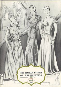 The Haslam System of Dressmaking No. 22 Bumper by MyVintageWish