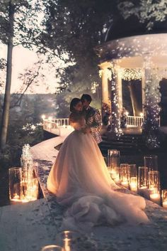 39 Popular Wedding Photo Ideas For Unforgettable Memories ❤️ popular wedding photo ideas romantic evening couple zhenyaswan wed ❤️ See more: http://www.weddingforward.com/popular-wedding-photo-ideas/ #weddingforward #wedding #bride #weddingideas
