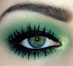 What do you think about this nice eye makeup idea? ♥