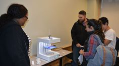 Thanks to a generous alumni donation, #AcadiaU business students now have a concrete way to learn about disruptive innovation. The F.C. Manning School of Business is one of a handful of undergraduate business schools in North America to adopt 3D printers into its curriculum. #WhatLearningLooksLike http://qoo.ly/c5gmq