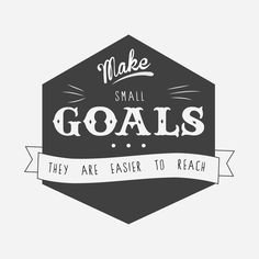This has been my inspiration the past several years... much easier to tackle small goals than the whole thing all at once...