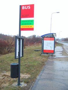 City bus stops - TRENCIN