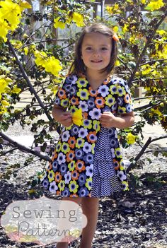 INSTANT DOWNLOAD Zoe Dress Sizes 12/18 months by sewsweetpatterns, $6.00