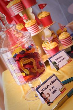 There's a snake in my boot!- Snakes for Toy Story Baby Shower @Kate Frost
