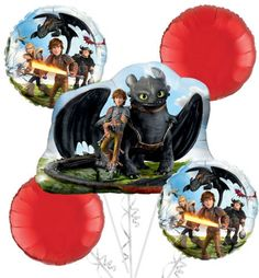 How to Train Your Dragon Party Supplies - How to Train Your Dragon Birthday - Party City