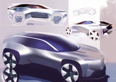 Bmw Design, Car Design Sketch, Car Sketch, Graphic Design, Industrial Design, Bmw I, Concept Board, Futuristic Cars, Cool Sketches
