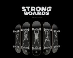 Header image of Strongboards by Petrick See more here: www.designsoak.com/strongboards-petrick/