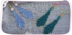 Jak zrobić piórka z koralików TOHO? Kurs tworzenia biżuterii. Bead Earrings, Tassel Necklace, Photo Tutorial, Tassels, Jewelry Making, Beads, Bracelets, Handmade, Earrings