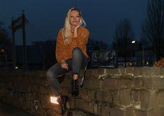 Outfit | Pepe Leandra Chenille Pulli in Senfgelb - G-Star Lynn Mid in Grau - Rebecca Minkoff Maddox Boots | hot-port.de | 30+ Style Blog