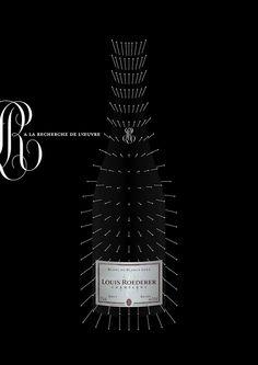 21-louisroeder3 Wine Advertising, Creative Advertising, Roederer Champagne, Louis Roederer, Red Wine Stains, Wine Poster, Wine Display, Types Of Wine, Wine Brands