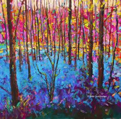 'Bluebell Wood' Card