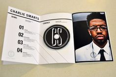 Charlie Smarts Press Kit by Helen Shaffer, via Behance