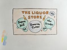 The Liquor Store Portland / March 2016 (by Chelsea)