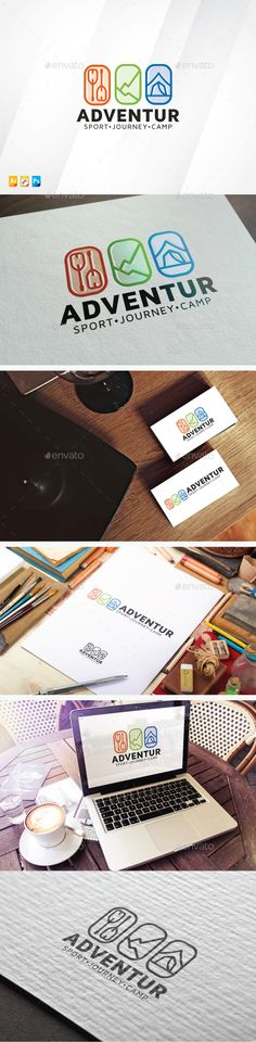 Adventure Logo — Photoshop PSD #professional #travel • Available here → https://graphicriver.net/item/adventure-logo/13721176?ref=pxcr