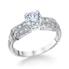 Whitehouse Brothers Vintage Engagement Ring