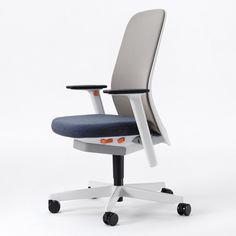 Riya office chair by PearsonLloyd for Bene - Nice color choices.