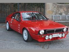 Love this Homologation Special Lancia
