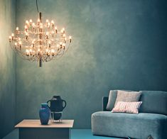 Flos 2097/30 Pendel - Krom - Pendel - Belysning Chandelier, Rooms, Ceiling Lights, Lighting, Beautiful, Home Decor, Bedrooms, Candelabra, Decoration Home