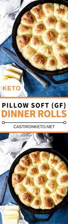 These Keto Dinner Rolls are soft, pillowy, and absolutely delicious! Based on the Fat Head Dough recipe you just can't go wrong.