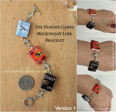 The Hunger Games Mockingjay Link Bracelet