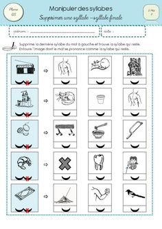 Manipuler les syllabes 3