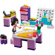 BOTH - LEGO Friends Emma's Design Studio $9.20