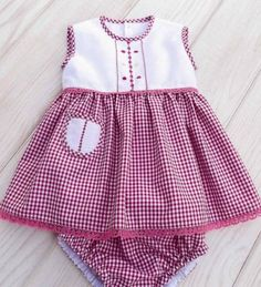 Newborn baby clothes are good quality, cozy and are all oh-so-cute! Frocks For Girls, Dresses Kids Girl, Kids Outfits Girls, Toddler Outfits, Girl Outfits, Baby Girl Dress Patterns, Baby Boy Dress, Baby Dress Design, Toddler Dress