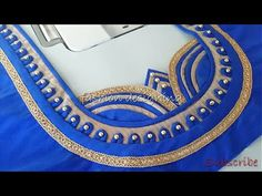 stitching of a beautiful back neck design of a blouse at home easy Latest Blouse Neck Designs, New Saree Blouse Designs, Brocade Blouse Designs, Patch Work Blouse Designs, Fancy Blouse Designs, Designer Blouse Patterns, Dress Neck Designs, Sleeves Designs For Dresses, Bridal Blouse Designs
