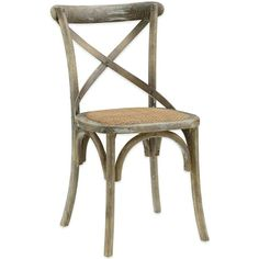 Set Of 2 Broxburn Wood And Metal Dining Chair By Baxton Studio