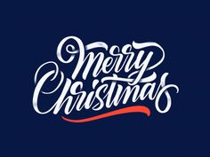Merry Christmas by Aleksey #Design Popular #Dribbble #shots