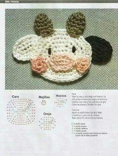50 Aplicaciones en crochet para bebés (Patrones) Crochet Flower Patterns, Applique Patterns, Crochet Patterns Amigurumi, Crochet Motif, Crochet Designs, Crochet Doilies, Crochet Flowers, Baby Blanket Crochet, Crochet Baby